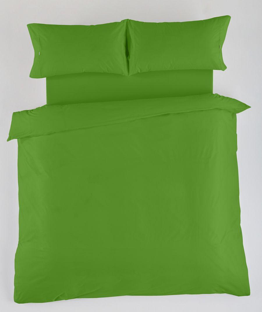 Funda Almohada Lisa 50% Algodón 50% Poliéster 144 Hilos Verde